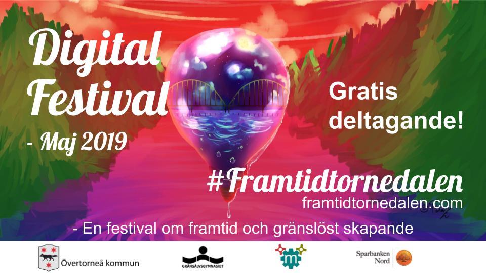 #FramtidTornedalen – Digital festival